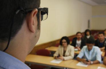 realtà aumentata occhiali a lezione