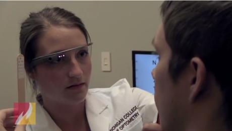 occhiali in realtà aumentata per le visite oculistiche