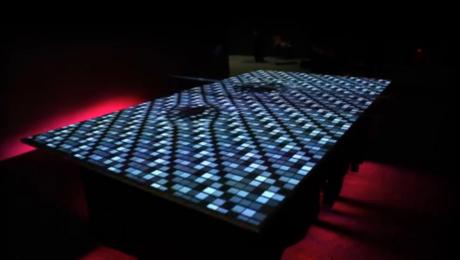 tavolo da ping pong in realtà aumentata