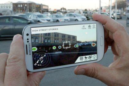 app in realtà aumentata per vedere Christchurch prima del terremoto