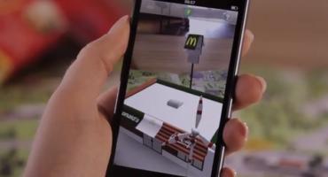 app realtà aumentata McDonald's