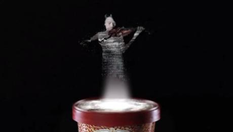 app gelato con musica in realtà aumentata