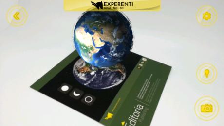 contenuti editoriali in realtà aumentata Experenti 2.0