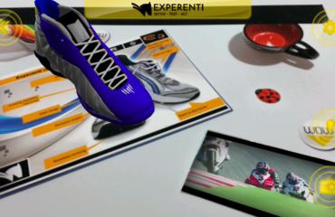 La realtà aumentata di Experenti 2.0 per i cataloghi