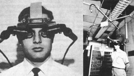 head-mounted display Ivan Sutherland precursore della realtà aumentata
