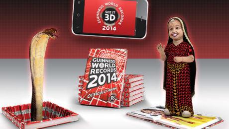 Guinness World Records 2014 realtà aumentata