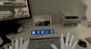 Smartworking del futuro di Facebook con la realtà aumentata